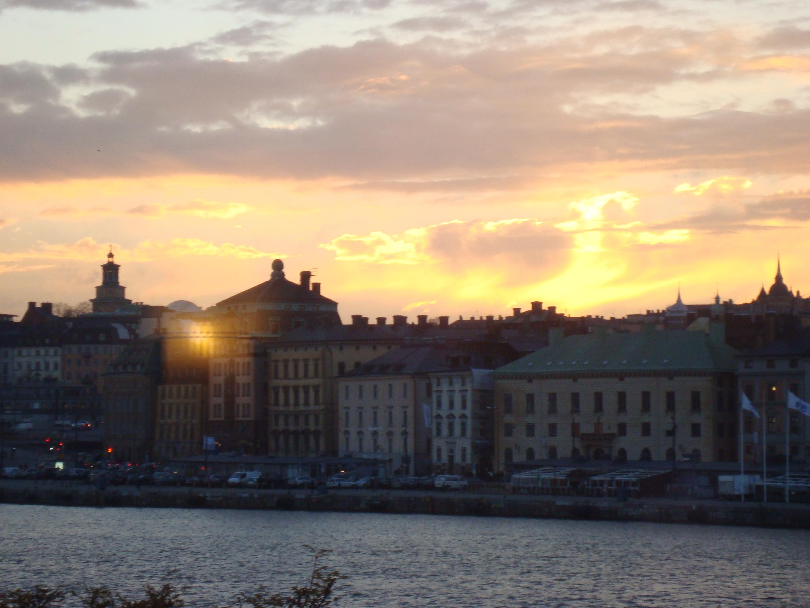 visiting Stockholm Sweden